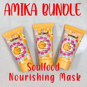 Amika Soulfood Nourishing Mask - Set of 3